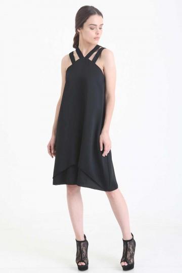 Salvatore Dress Black