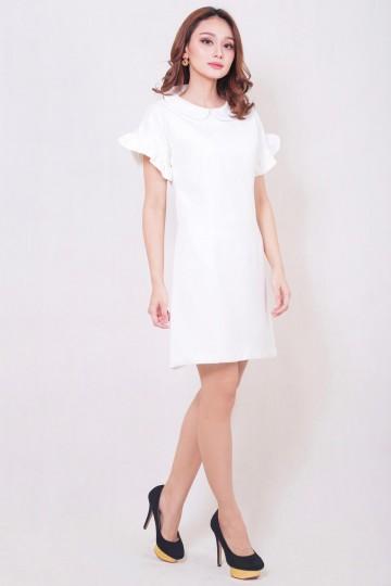 Belle Dress White