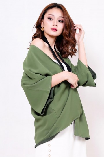 Lucy Top Green