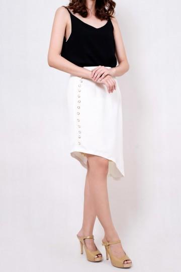 Anna Skirt White
