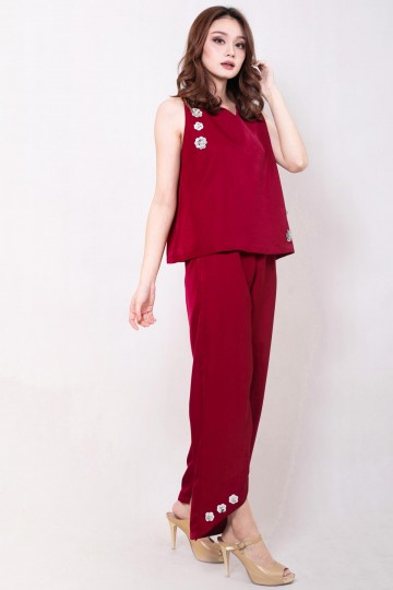 Roisen Pants Red
