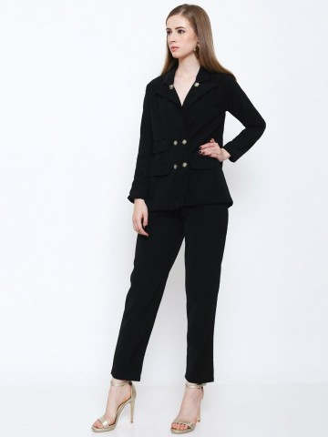 Jet Set Blazer Black
