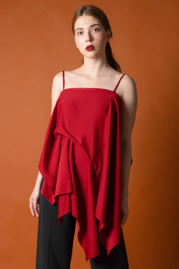 Lyra Top Red