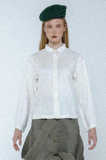 Broken White Riley Basic Shirt