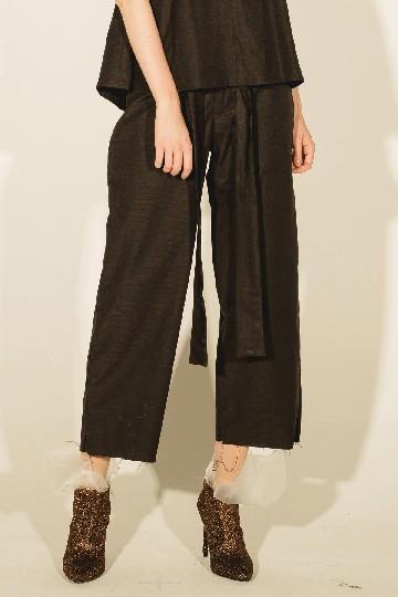 Black Halia Knot Pants