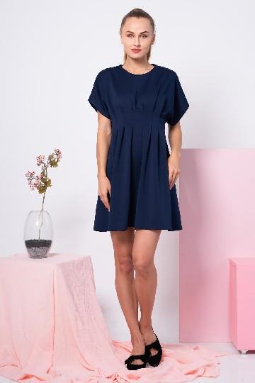 Amber Dress Navy
