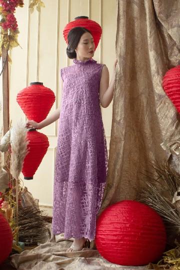 Iris Dress Purple