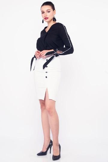 Taya Skirt White