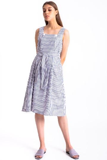 Liv Flap Dress Blue