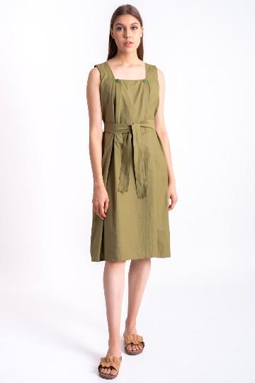 Liv Flap Dress Green