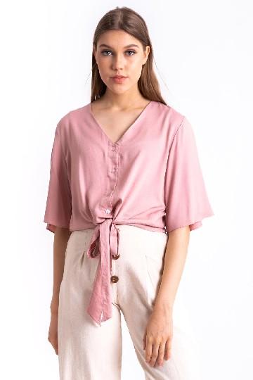 Otten Tie Top Pink