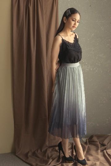 Cora Skirt Blue