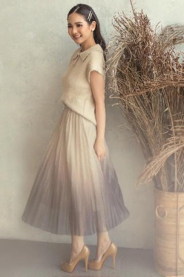 Cora Skirt Gold