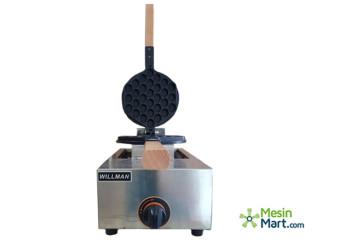 Mesin Cetak Wafel/ Egg Waffle Maker (Gas) Wafflelicious image
