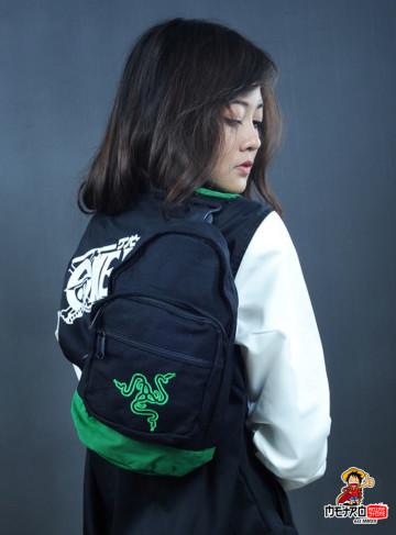 Shoulder Bag Denim Razer image
