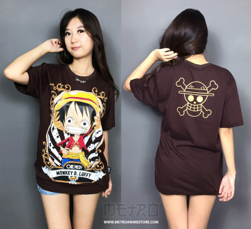KAOS LUFFY CHIBI BROWN image