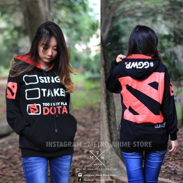 SWEATER DOTA2 ADDICT image