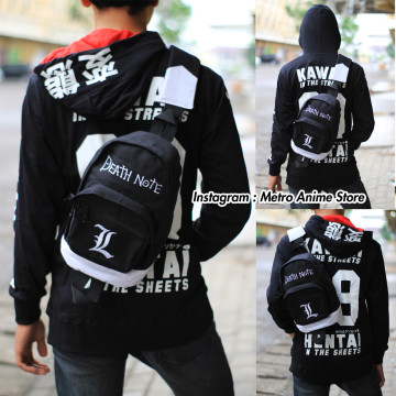 SHOULDERBAG DENIM DEATHNOTE image
