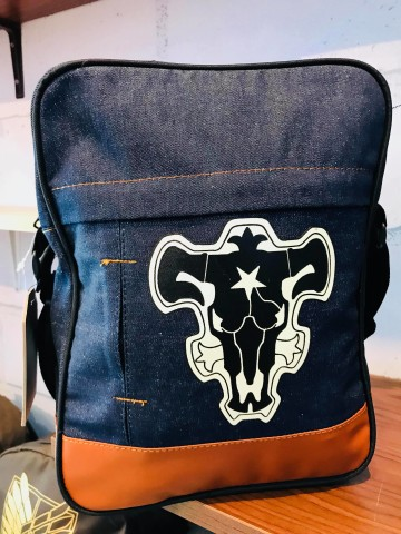 SLINGBAG DENIM BLACKBULL image