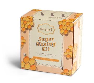 Mirael Honey Sugar Waxing Kit image