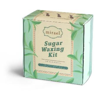 Mirael Green Tea Sugar Waxing Kit image