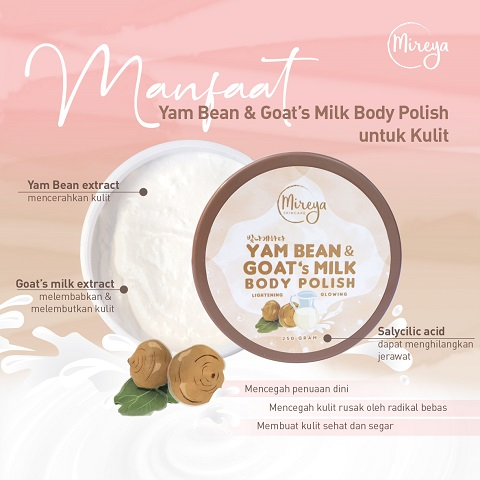 Yam Bean Body Polish