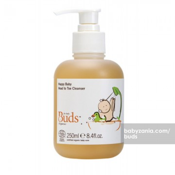 BUDS Happy Baby Head To Toe Cleanser 250 ml