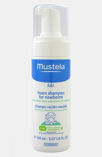 Mustela Foam Shampoo For Newborn 150ml