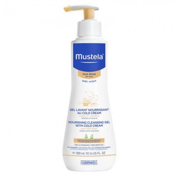 Mustela Nourish Cln Gel w Coldcrm 300ml