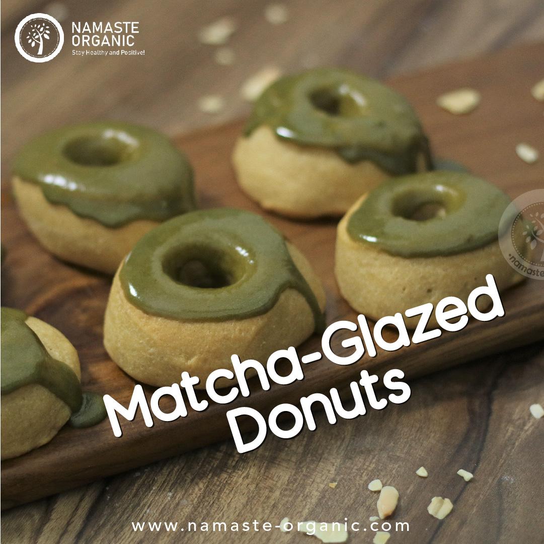 Matcha Glazed Donut image