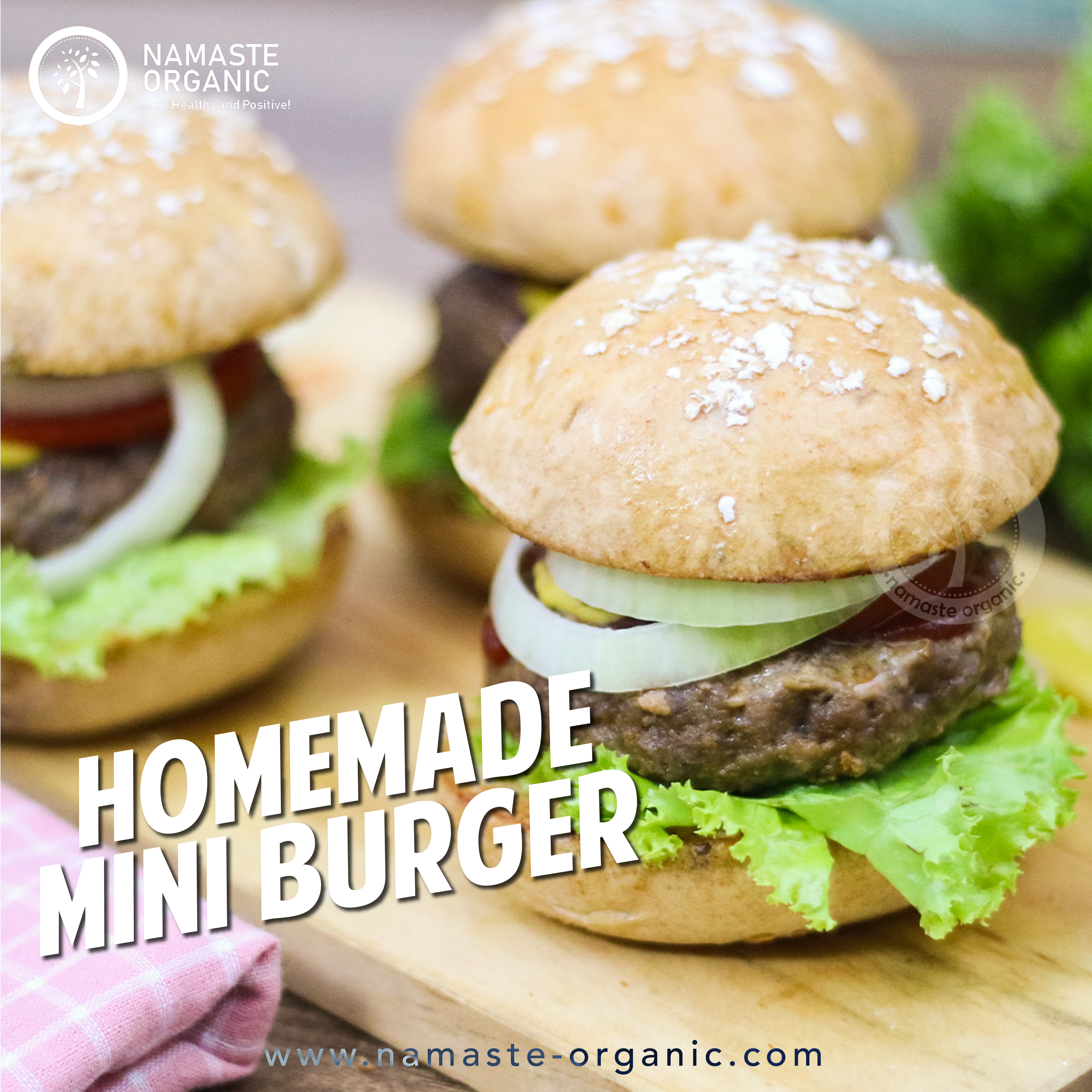 Healthy Junkfood: Beef Burger image