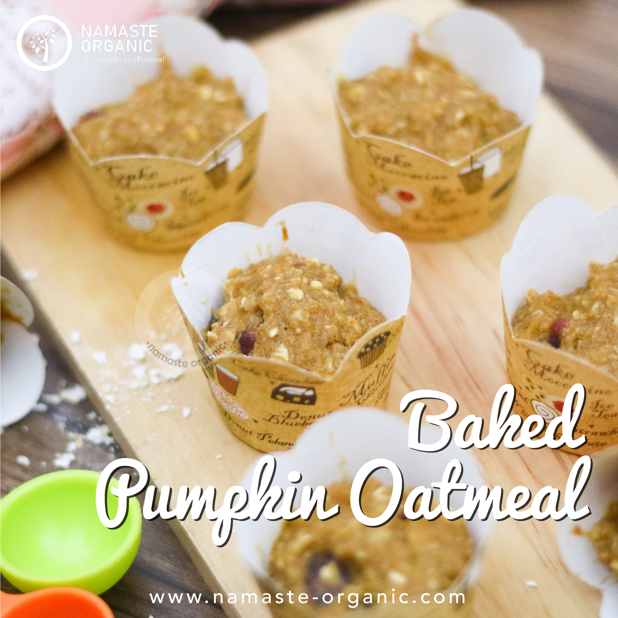 Pumpkin Cranberry Oatmeal Cup image