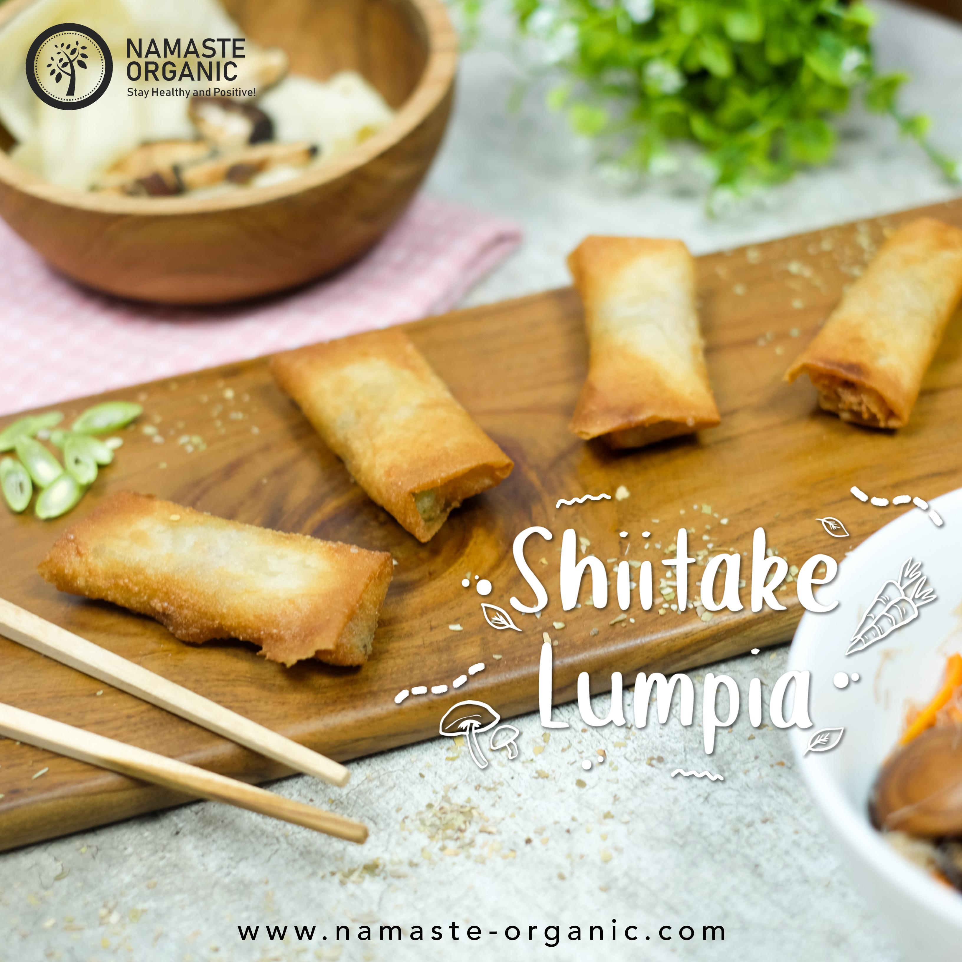 Lumpia Jamur Shiitake image