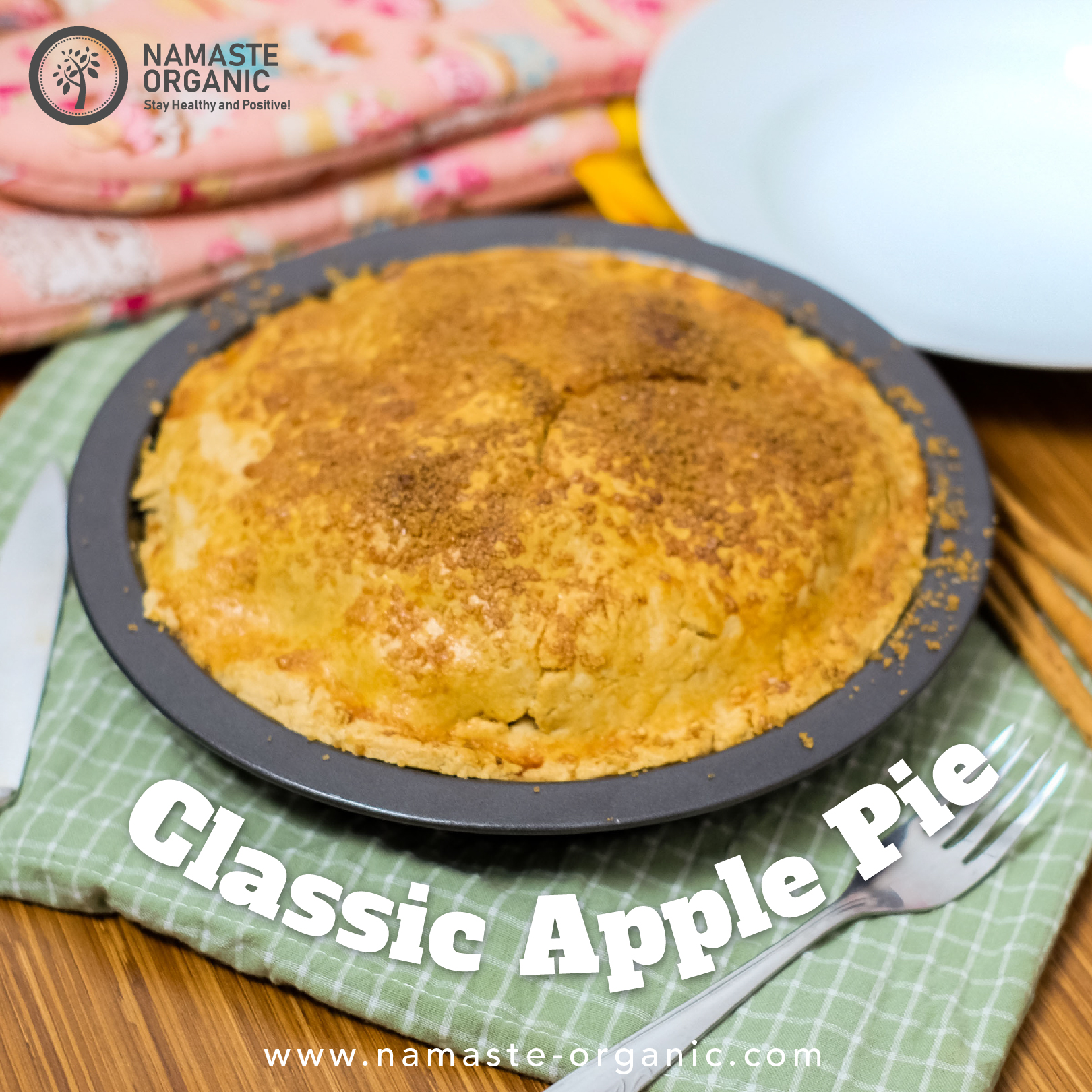 Whole Wheat Apple Pie image