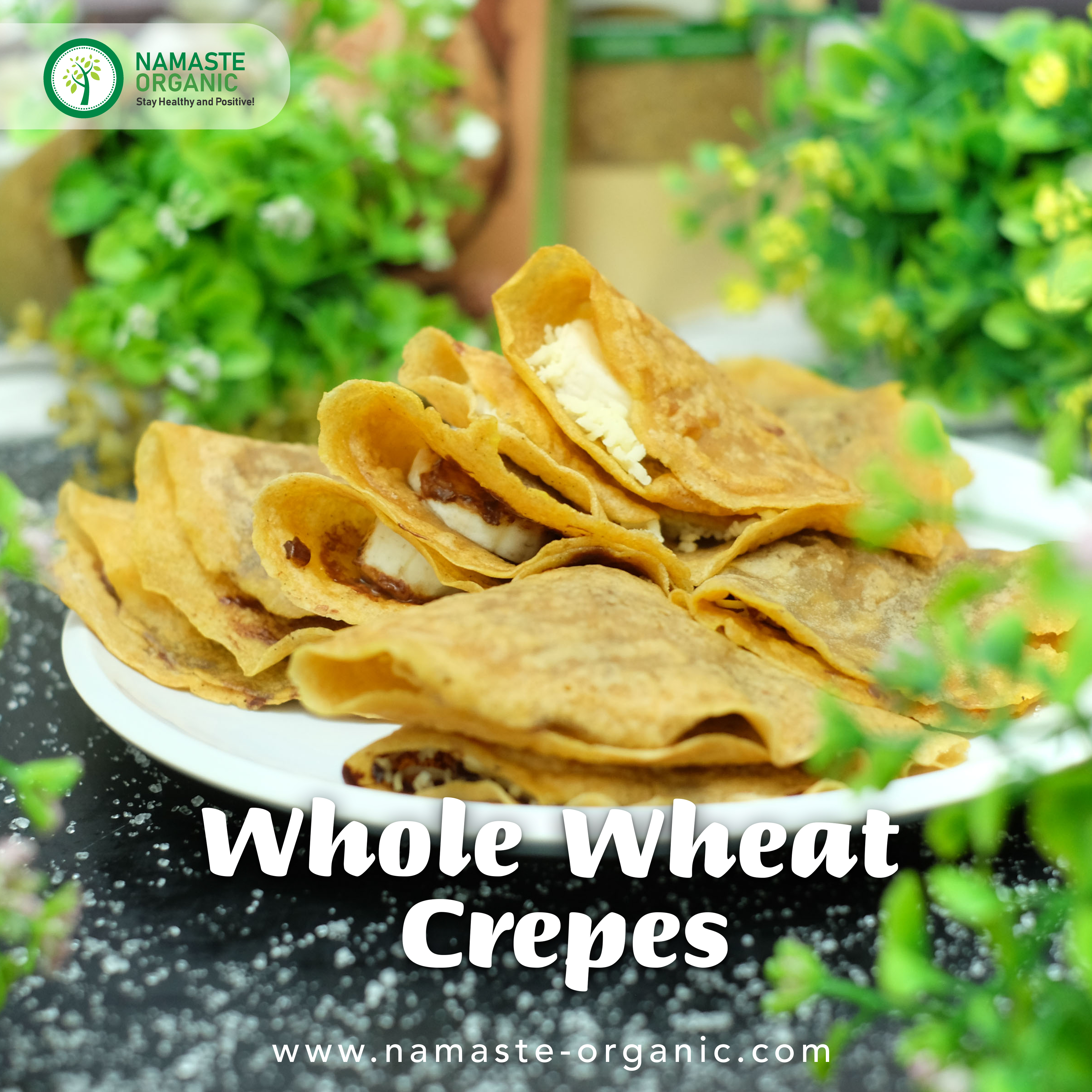WHOLE WHEAT CREPES image