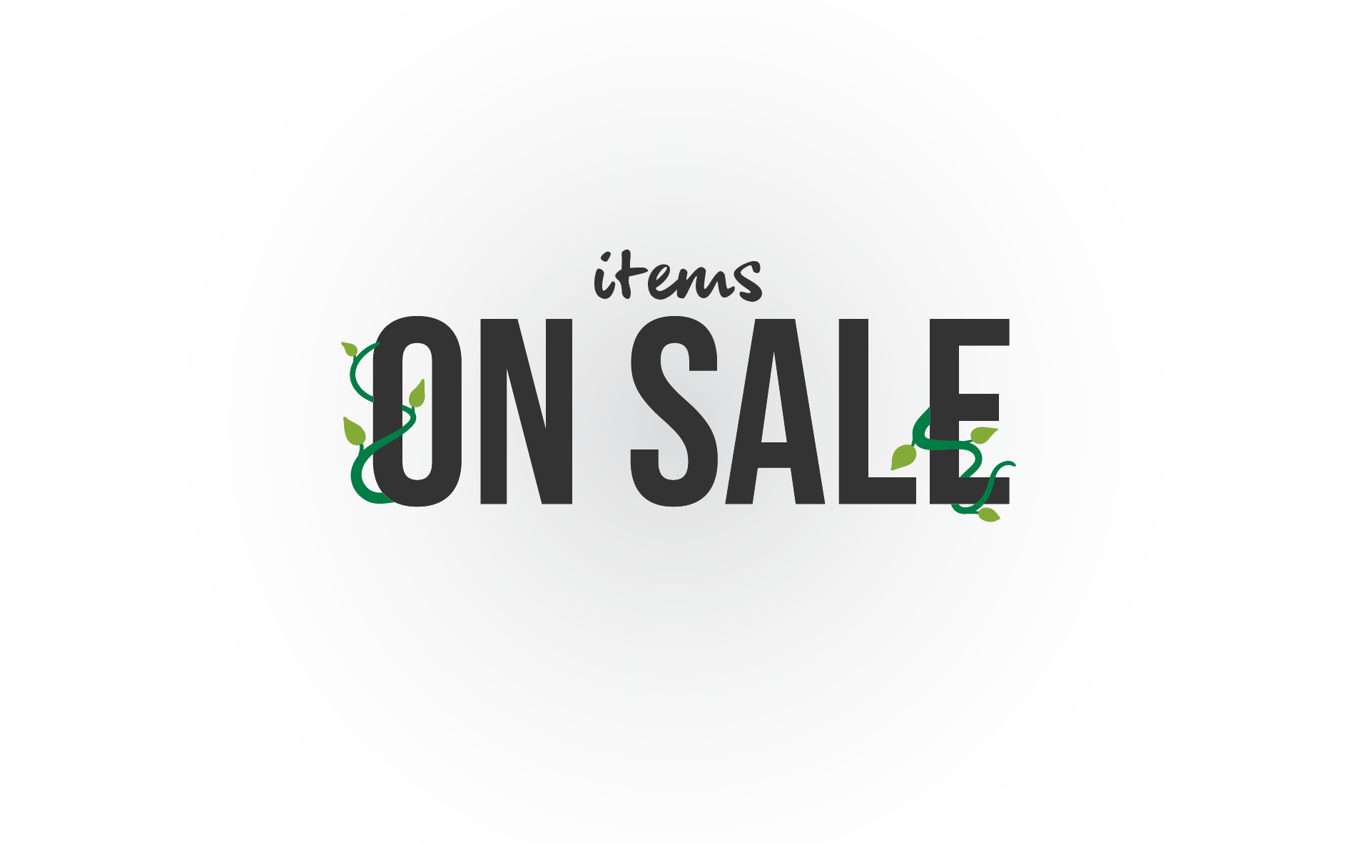 Items on sale!