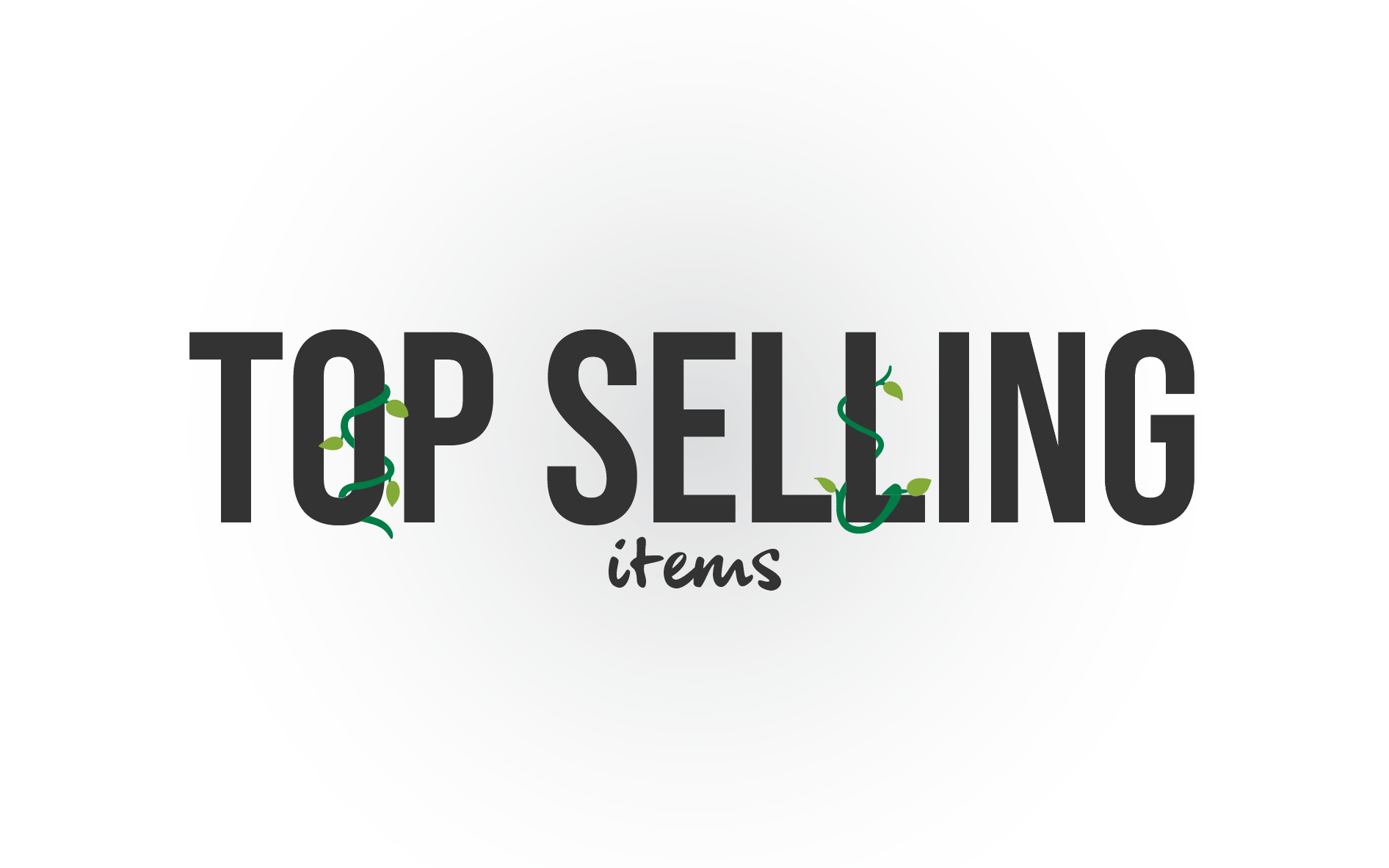Best selling items!