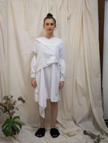 White Honoaru Dress