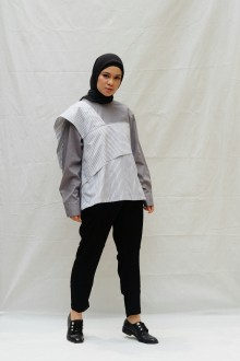 Iruka Top Grey