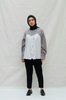 Ichikama Top Grey