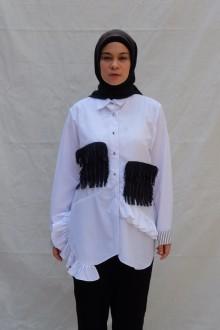 White Ikarumi Top