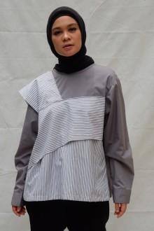 Grey Iruka Top