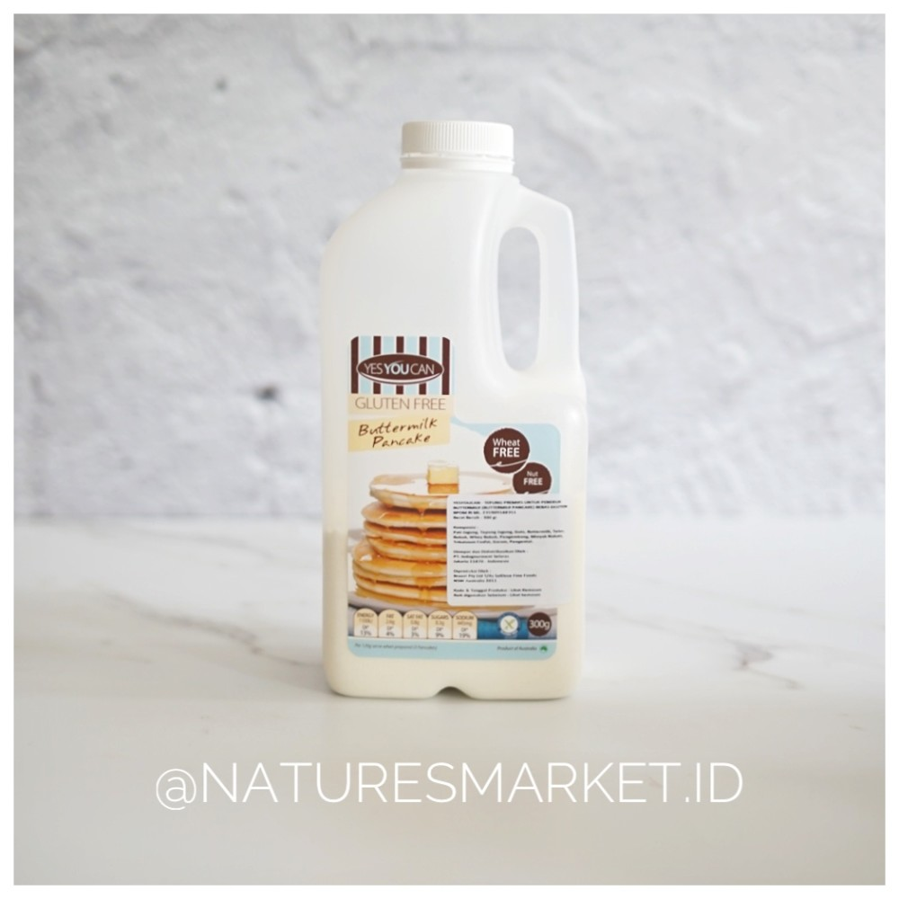 Yes You Can Buttermilk Pancake Mix 300gr Fruit 18 For Adult Untuk Dewasa