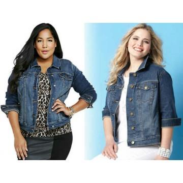 Jaket jeans levis big size image