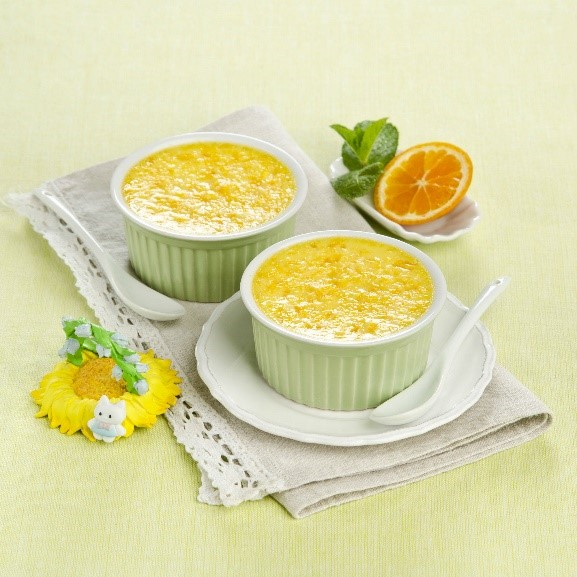 NO BAKE LEMON COLLAGEN PUDDING image