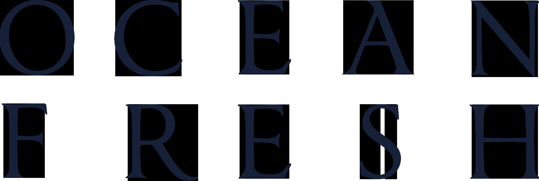logo ocean fresh