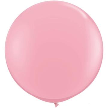 Giant Round Balloon Pink image