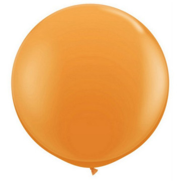 Giant Round Balloon Orange image