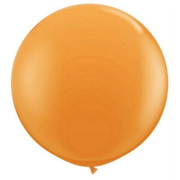 Giant Round Balloon Orange image