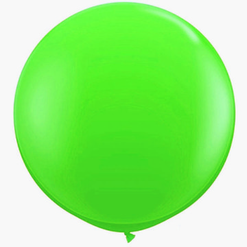 Giant Round Balloon Green image